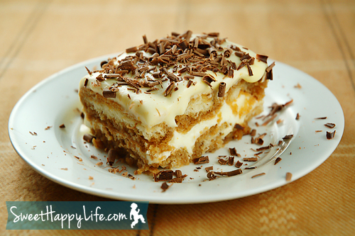 Homemade Tiramisu - Easy Family Recipes