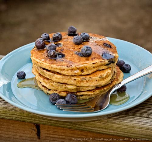 Easy Blueberry Pancakes Recipes — Dishmaps