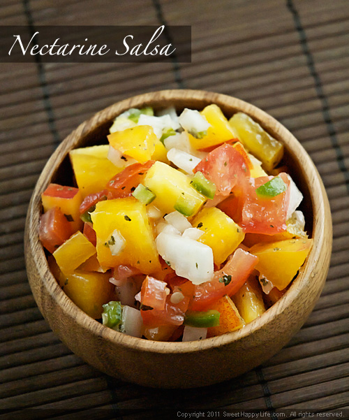 Nectarine Salsa - Easy Family Recipes