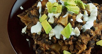 Black Bean Chilaquiles - Easy Family Recipes