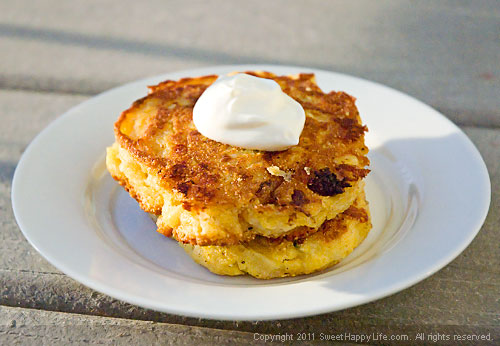 Fresh Corn Cakes - Easy Family Recipes