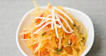 Spaghetti Squash with Tomato-Sage Sauce - Easy Family Recipes