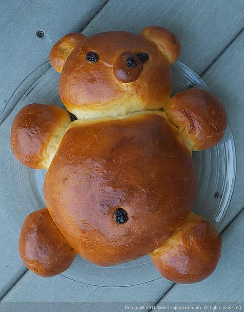 Honey-Vanilla Teddy Bear Challah – The cutest bread I've ever ...