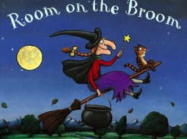 Room on the Broom - Halloween Books for Children