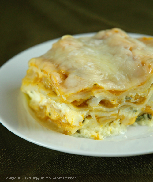 Butternut Squash Lasagna - Easy Family Recipes