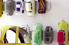 Magnet Strip Car Storage - Boy Room Storage Ideas