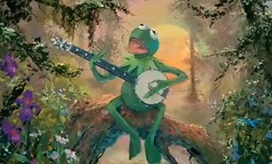 Five Green and Speckled Frogs - Lyrics and Melody