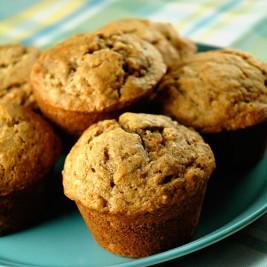 Whole Wheat Banana Maple Muffins - Easy Family Recipes