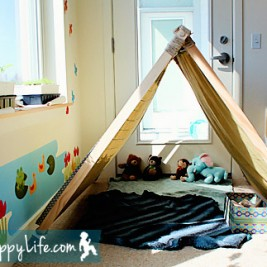 Toddler Play Tent: DIY or Buy?