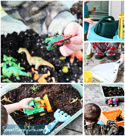 Toddler Snacking Garden