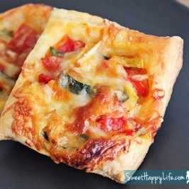Easy Garden Vegetable Tarts