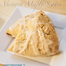 Maple Scones - A Taste of Vermont