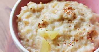 Apple Spice Steel Cut Oatmeal