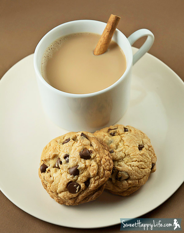 Hot Spiced Tea and Cookies