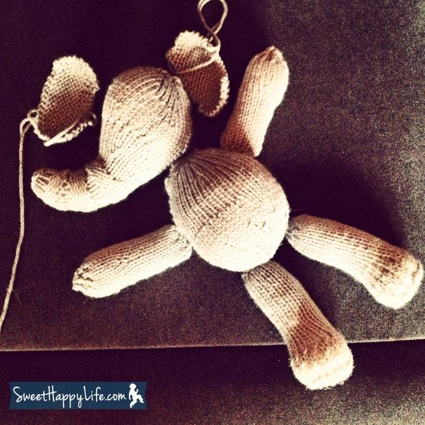 DIY Knitted Elephant