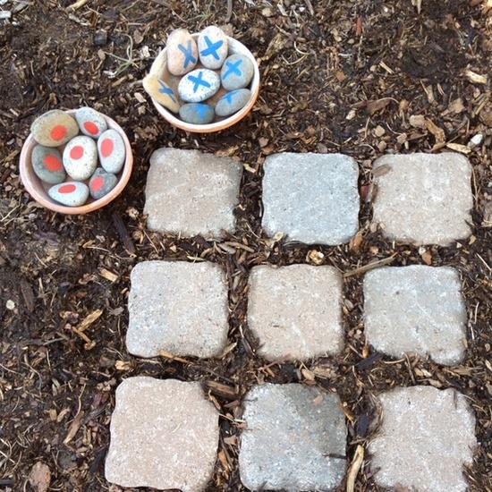 Garden Tic Tac Toe
