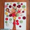 Preschool Button Tree Craft Project
