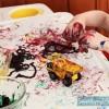 Yarn Painting | Preschool Art Activity