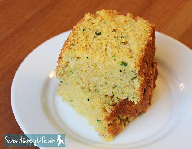 Easy Zucchini Cornbread