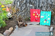 DIY Garden Gnome Doors