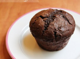 Double Chocolate Millet Muffins