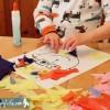 Tissue Paper Portraits | Preschool Art