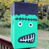 DIY Halloween Monster Decoration