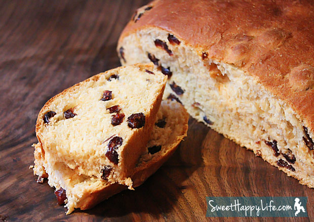 Honey Whole Wheat Cranberry Bread