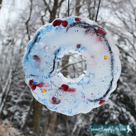 Frozen Ornaments | Preschool Activity