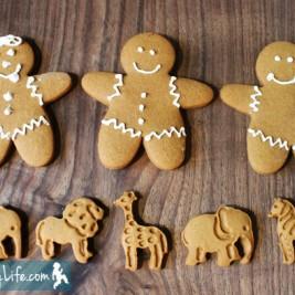 Gingerbread Men & Animals