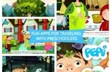 Apps for Traveling with Preschoolers