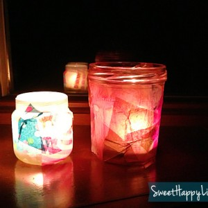 DIY Candle Votive Holders for the Winter Solstice