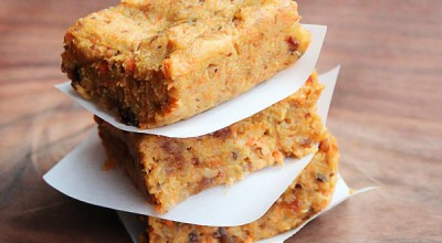 Easy Carrot Cake Lucy Bars