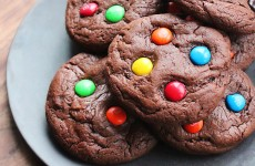 Quintuple Chocolate Cookies